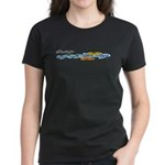 Colorful clouds Women's Dark T-Shirt