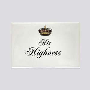 His Highness Rectangle Magnet