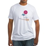 Mount Fuji(Fujisan) Fitted T-Shirt