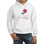 Mount Fuji(Fujisan) Hooded Sweatshirt