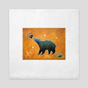Morning Bear Queen Duvet