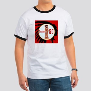 5¢ CIGARStore Indian T-Shirt