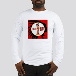 5¢ CIGARStore Indian Long Sleeve T-Shirt