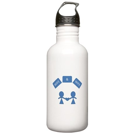 Wife &Wife Water Bottle