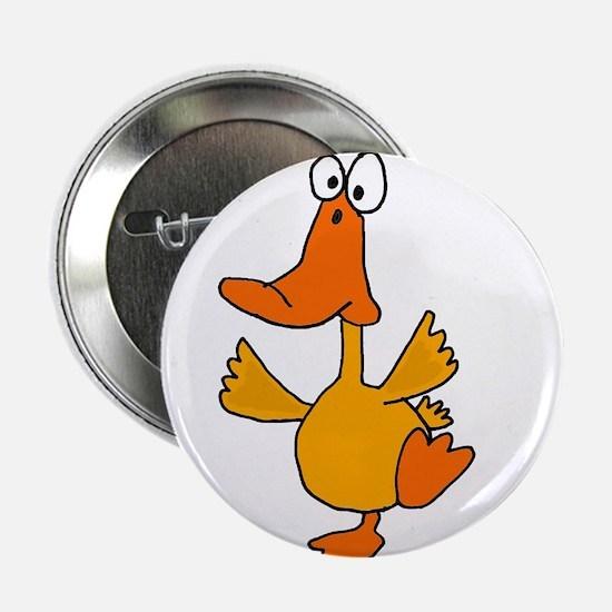 "Dancing Duck 2.25"" Button"