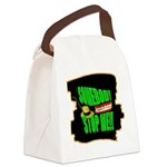 somebody stop me Canvas Lunch Bag