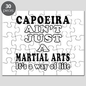 Capoeira Martial Arts Designs Puzzle