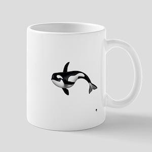 killer whale Small Mug