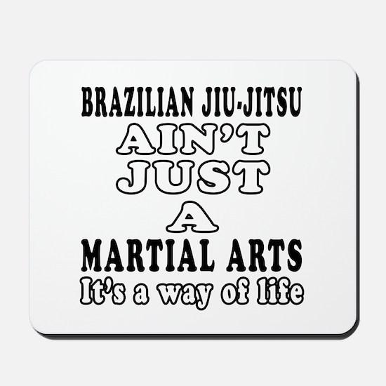 Brazilian Jiu Jitsu Martial Arts Designs Mousepad