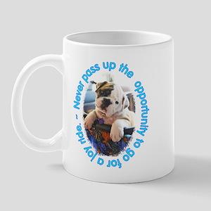 Bulldog Puppy Joy Ride Mug