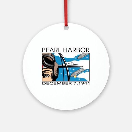 Pearl Harbor Ornament (Round)