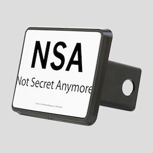 NSA Not Secret Anymore Rectangular Hitch Cover