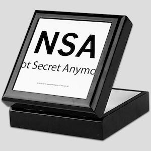 NSA Not Secret Anymore Keepsake Box