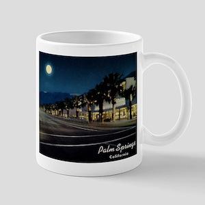 Night Scene, Palm Springs, California Mug