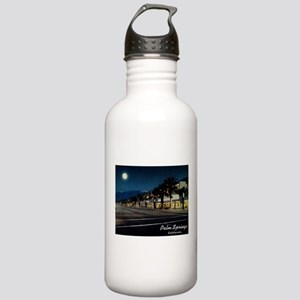 Night Scene, Palm Springs, California Water Bottle
