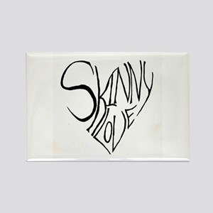 Skinny Love Rectangle Magnet