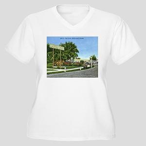 The Circle, Hollywood, Florida Plus Size T-Shirt