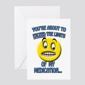 Medication Light Greeting Card