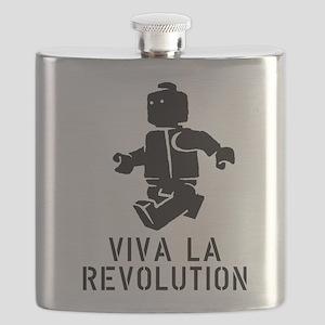 Viva la Revolution Flask