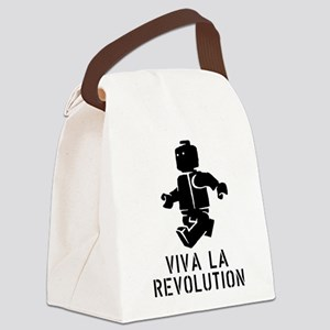 Viva la Revolution Canvas Lunch Bag