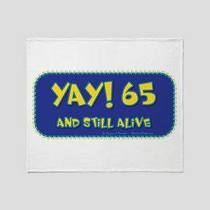 Yay! 65 Throw Blanket