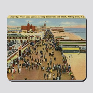 Boardwalk, Asbury Park, New Jersey Vintage Mousepa