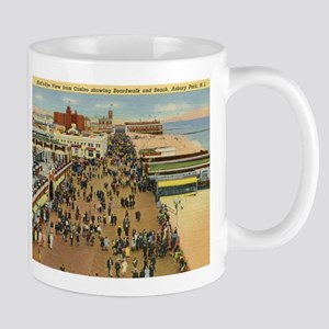 Boardwalk, Asbury Park, New Jersey Vintage Mug