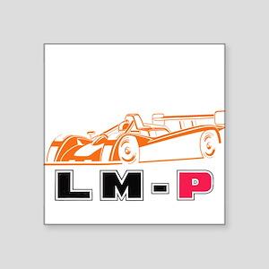"Superlite LMP- white Square Sticker 3"" x 3"""
