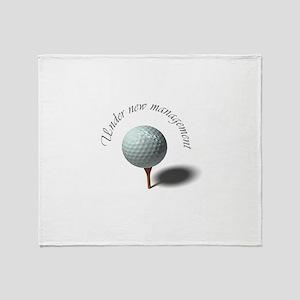 Retirement - Under New Management – Golfer Throw B