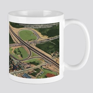 Lincoln Tunnel, New Jersey Turnpike Vintage Mug