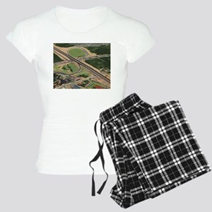 Lincoln Tunnel, New Jersey Turnpike Vintage Pajama