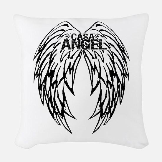 CASA Angel Wings Woven Throw Pillow