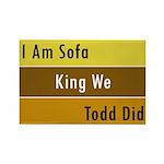 Sofa King Rectangle Magnet (10 pack)