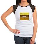 Sofa King Women's Cap Sleeve T-Shirt