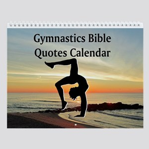 Blessed Gymnast Wall Calendar