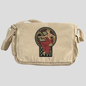 Alphonse mucha art Messenger Bag