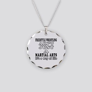 Freestyle Wrestling Martial Arts Designs Necklace