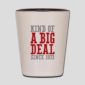 Kind of a Big Deal Since 1973 Shot Glass