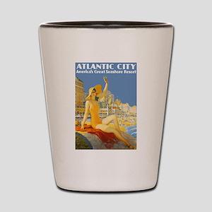 Vintage Atlantic City Travel Shot Glass