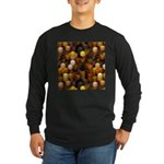 SteamCubism - Brass - Long Sleeve Dark T-Shirt
