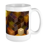 SteamCubism - Brass - Large Mug