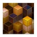 SteamCubism - Brass - Tile Coaster