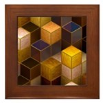 SteamCubism - Brass - Framed Tile