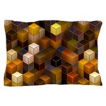 SteamCubism - Brass - Pillow Case