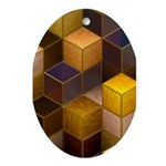 SteamCubism - Brass - Ornament (Oval)