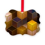 SteamCubism - Brass - Picture Ornament