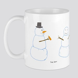 Snowman Donor The Gift Mug