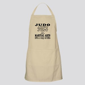 Judo Martial Arts Designs Apron