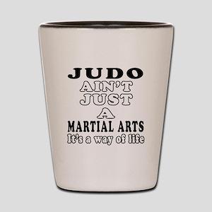 Judo Martial Arts Designs Shot Glass
