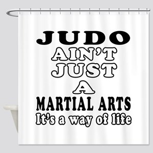 Judo Martial Arts Designs Shower Curtain